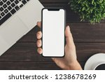 investor analyzing stock market ... | Shutterstock . vector #1238678269
