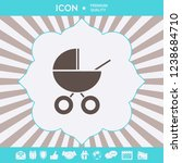 baby carriage icon. graphic... | Shutterstock .eps vector #1238684710