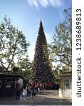 the grove  los angeles ... | Shutterstock . vector #1238689813
