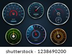set speedometers  icon group...