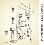 aged orient bible heritage... | Shutterstock .eps vector #1238700499