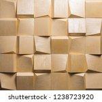 Yellow 3d  Panel Texture ...