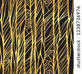 abstract doodle wavy line... | Shutterstock . vector #1238736976