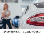 selective focus on car lights... | Shutterstock . vector #1238740450