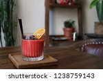 watermelon  grapefruit ... | Shutterstock . vector #1238759143