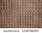 brown tile pavement background... | Shutterstock . vector #1238788390
