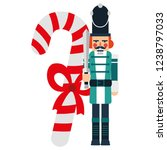 christmas nutcracker design | Shutterstock .eps vector #1238797033