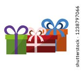 gift box design | Shutterstock .eps vector #1238797066