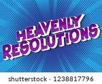 heavenly resolutions   vector... | Shutterstock .eps vector #1238817796