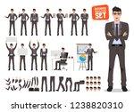male busines character vecor... | Shutterstock .eps vector #1238820310