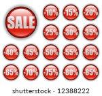 discount sales  vector web... | Shutterstock .eps vector #12388222