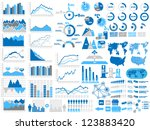 new style web elements... | Shutterstock .eps vector #123883420