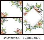vintage delicate greeting... | Shutterstock .eps vector #1238835073