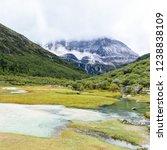 beautiful scene in the daocheng ... | Shutterstock . vector #1238838109