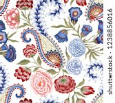 Seamless Pattern With Pink  Re...