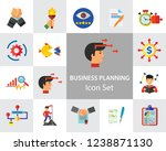 business planning icon set....   Shutterstock .eps vector #1238871130