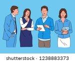 hand drawn vector design... | Shutterstock .eps vector #1238883373
