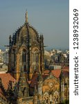 Small photo of 06-Nov-2008-Chhatrapati Shivaji Maharaj Terminus Victoria Terminus station-Unesco World Heritage Site Mumbai maharashtra INDIA asia