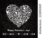happy valentine's day  ...   Shutterstock .eps vector #123894349