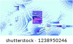 abstract vector background dot... | Shutterstock .eps vector #1238950246