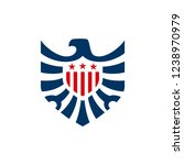 american eagle logo template | Shutterstock .eps vector #1238970979