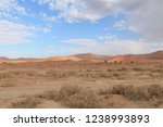 the red sand dunes of the namib ... | Shutterstock . vector #1238993893