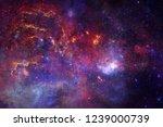 outer space art. nebulas ...   Shutterstock . vector #1239000739