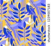 abstract seamless pattern of... | Shutterstock .eps vector #1239007183