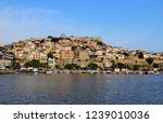 old town and historic fortress... | Shutterstock . vector #1239010036