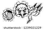 an eagle bird golf sports... | Shutterstock .eps vector #1239021229