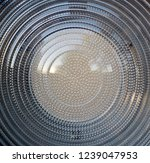 fresnel lens. spotlight with...   Shutterstock . vector #1239047953
