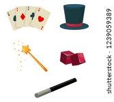 tricks  vector set | Shutterstock .eps vector #1239059389