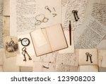 Open Book  Vintage Accessories  ...