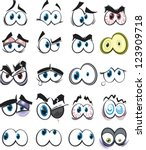 A Collection Of Cartoon Eyes