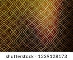 light green  yellow vector... | Shutterstock .eps vector #1239128173