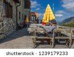 franz senn hutte  2 147 m asl ... | Shutterstock . vector #1239179233