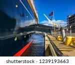 The Britannia  Royal Yacht In...