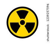 reproduction of radioactive... | Shutterstock . vector #1239257596