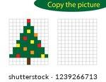 copy the picture  pixel art ... | Shutterstock .eps vector #1239266713