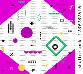 funky design background  modern ...   Shutterstock .eps vector #1239282616
