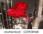 fine art photo of a beautiful... | Shutterstock . vector #123928468