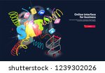burst and spray hot sale on... | Shutterstock .eps vector #1239302026