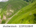 panorama of the chegem gorge.... | Shutterstock . vector #1239310849