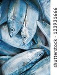 Fresh Raw Mackerel Fish In...