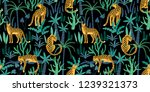 vector seamless pattern with... | Shutterstock .eps vector #1239321373