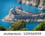 porto venere  portovenere  ... | Shutterstock . vector #1239365959