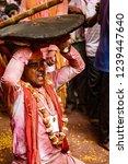 barsana  india   february 24 ... | Shutterstock . vector #1239447640
