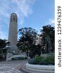 coit tower in san francisco | Shutterstock . vector #1239476359