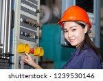 Young Asian Woman Engineer Set...