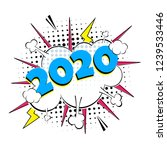 2020 happy new year christmas...   Shutterstock .eps vector #1239533446